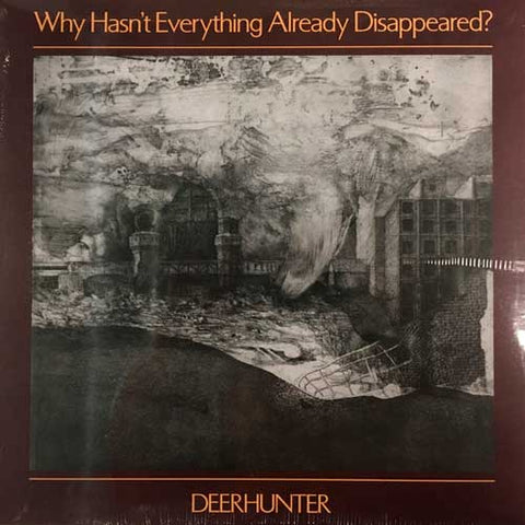DEERHUNTER — WHY HASN'T EVERYTHING ALREADY DISAPPEARED (VINILO GRIS)