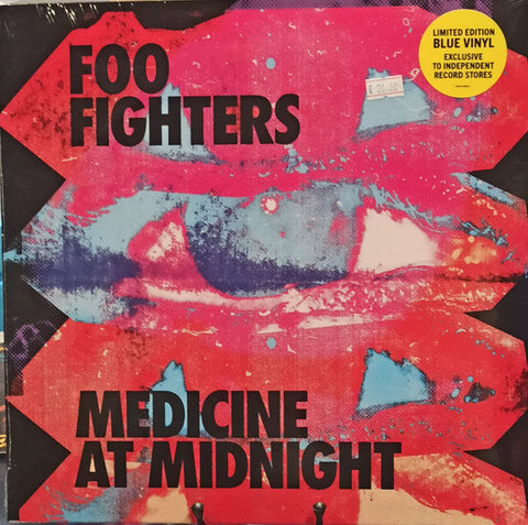 FOO FIGHTERS — MEDICINE AT MIDNIGHT (VINILO AZUL)