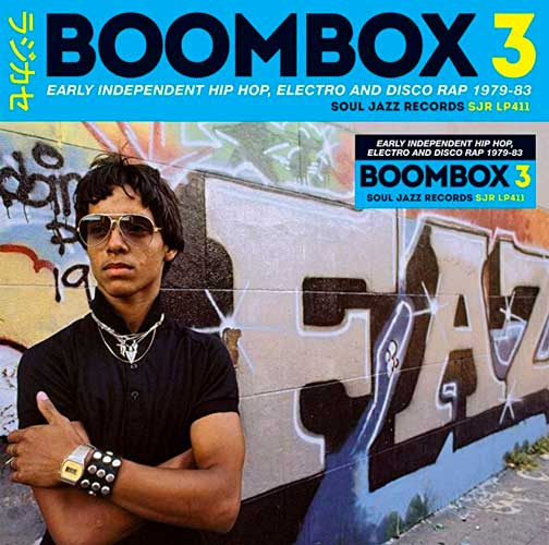 BOOMBOX 3 EARLY INDEPENDENT HIP HOP 79-83 (3x)