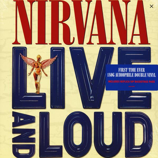 NIRVANA — LIVE AND LOUD