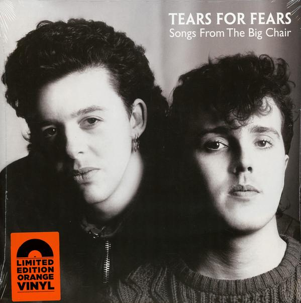 TEARS FOR FEARS — SONGS FROM THE BIG CHAIR (VINILO NARANJA)