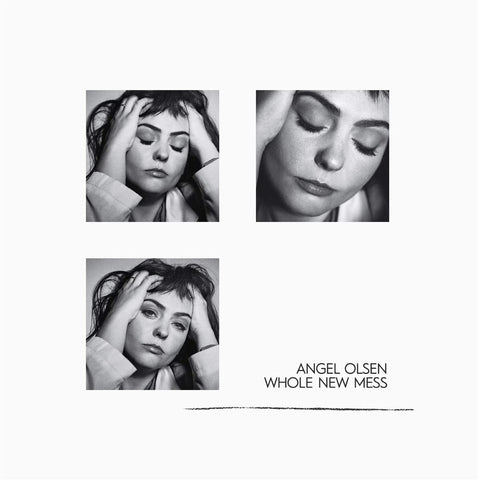 ANGEL OLSEN — WHOLE NEW MESS (CLEAR SMOKE TRANS)