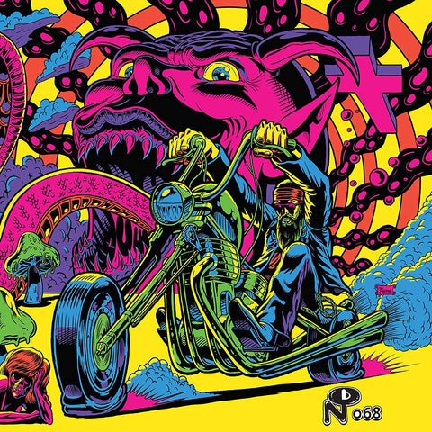 WARFARING STRANGERS — ACID NIGHTMARES (COLOR NEON AMARILLO)