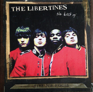 THE LIBERTINES — THE BEST OF TIME FOR HEROES (VINILO ROJO)
