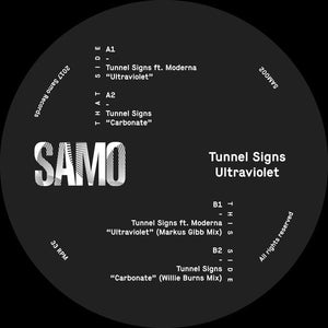TUNNEL SIGNS — ULTRAVIOLET