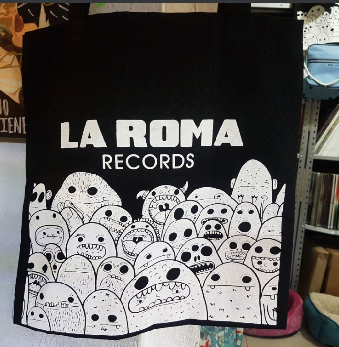 TOTE BAG LRR LA ROMA RECORDS