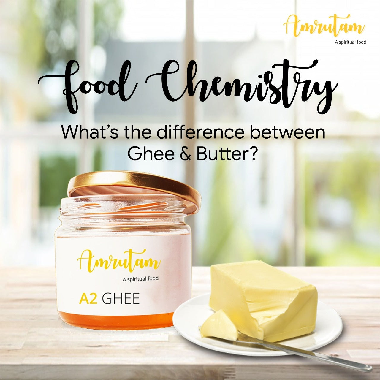 Food Chemistry: What's the difference between ghee and butter?