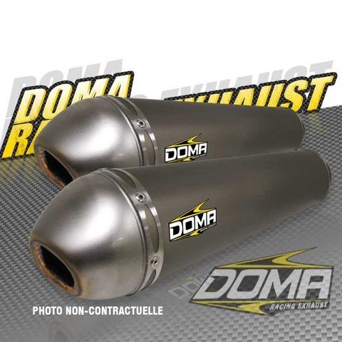 Doma Racing Twin Exhaust Full System Raptor 700 Australia