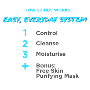 SkinB5 Starter Kit (FREE Bonus Mask)