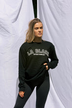 Load image into Gallery viewer, Varsity Sweater - Black
