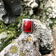 Load image into Gallery viewer, Carnelian Timeless Ring