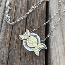 Load image into Gallery viewer, Goddess Moonbeam Necklace