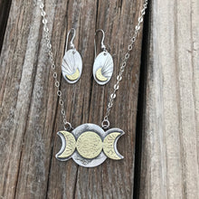 Load image into Gallery viewer, Goddess Moonbeam Earrings