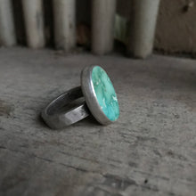 Load image into Gallery viewer, Meadow Green Turquoise Ring