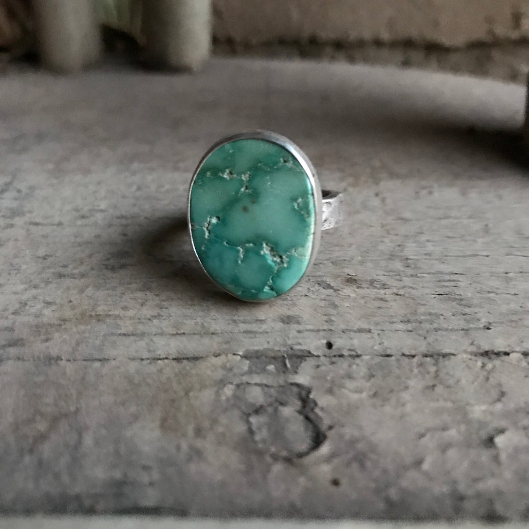 Meadow Green Turquoise Ring