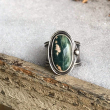 "Load image into Gallery viewer, Ocean Jasper ""Mid-Season"" Ring"