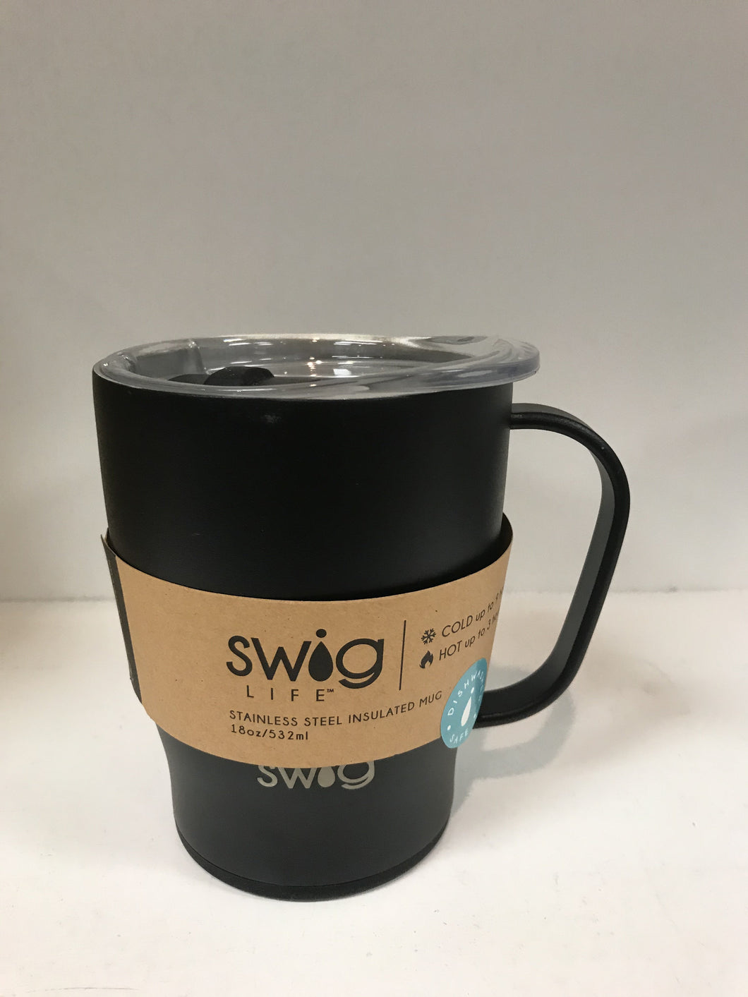 Swig Insulated 18oz Mug Matte Black