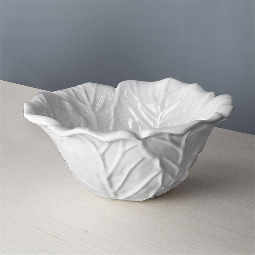 Beatriz Ball Lettuce Bowl White Small
