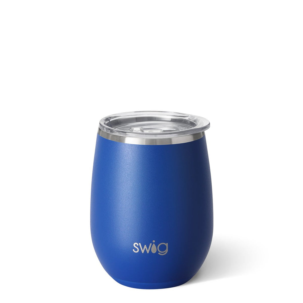 Swig 14oz Wine w/straw Royal