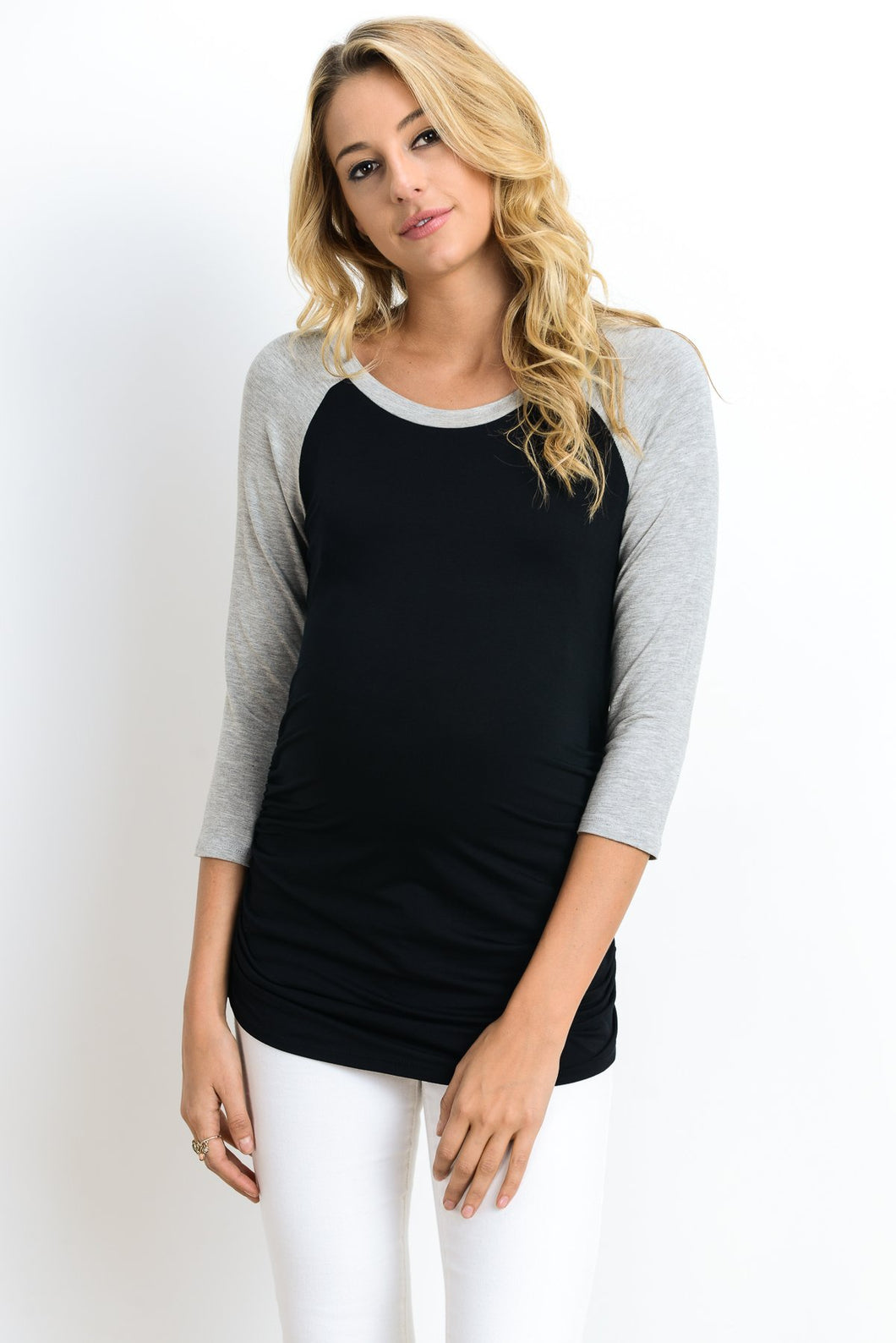 RAGLAN MATERNITY TOP