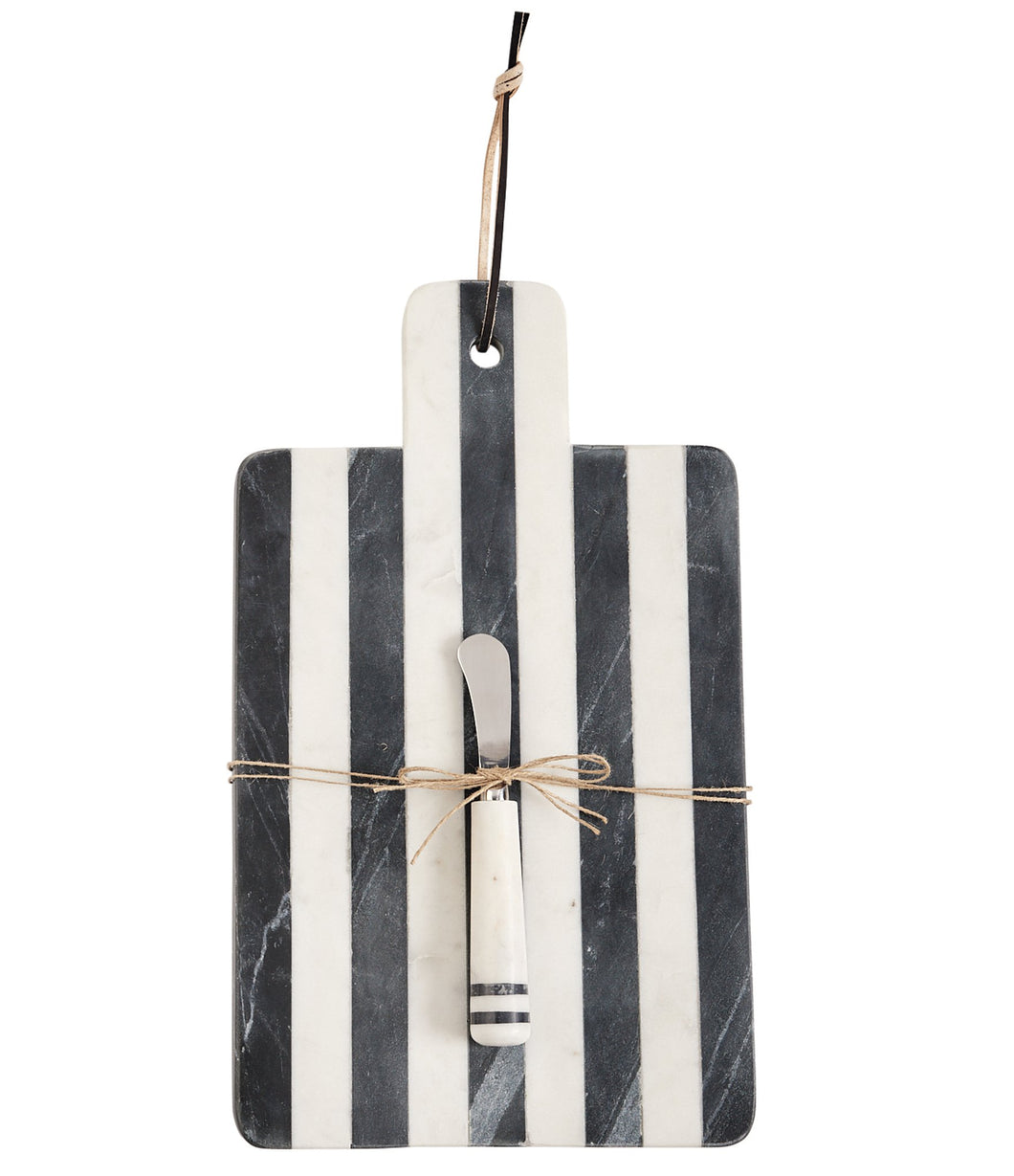 Paddle Stripe Marble Board