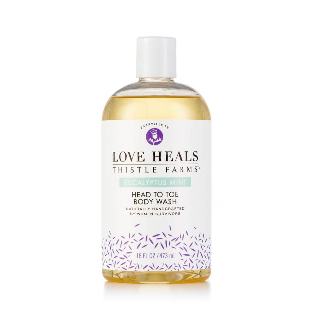 Head to Toe Body Wash Eucalyptus Mint