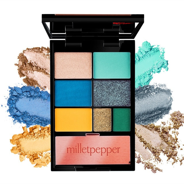 BLUES Eyeshadow Palette by Milletpepper