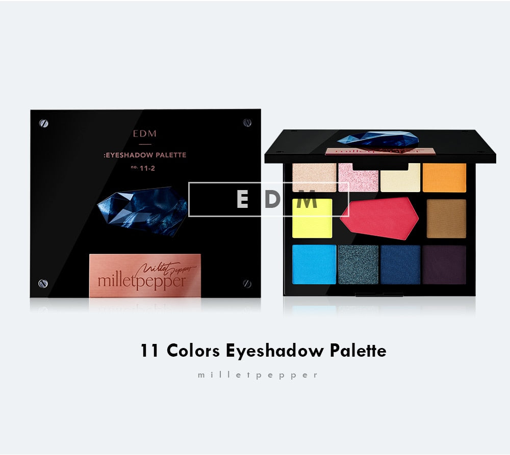 EDM Eyeshadow Palette by Milletpepper