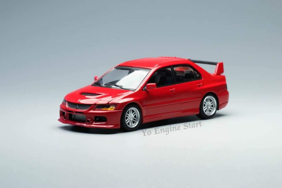 Peako64 x YoEngineStart 1:64 Mitsubishi Lancer Evolution IX Red