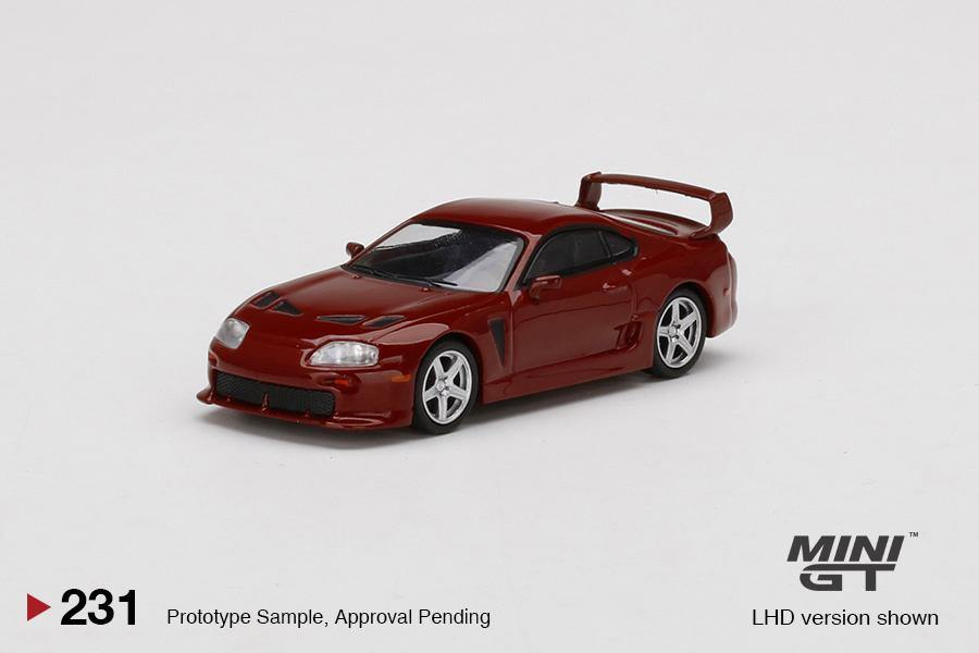 MINI GT 1:64 Toyota TRD 3000GT Renaissance Red - Little Luca's Toys