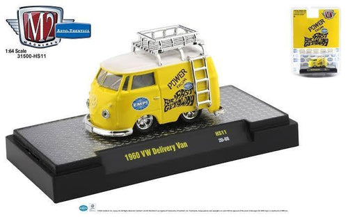 M2 Machines 1:64 Hobby Exclusive 1960 Volkswagen Delivery Van EMPI Limited Edition - Little Luca's Toys