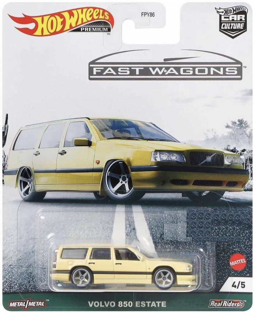 Hot Wheels Car Culture Fast Wagons Volvo 850 Estate