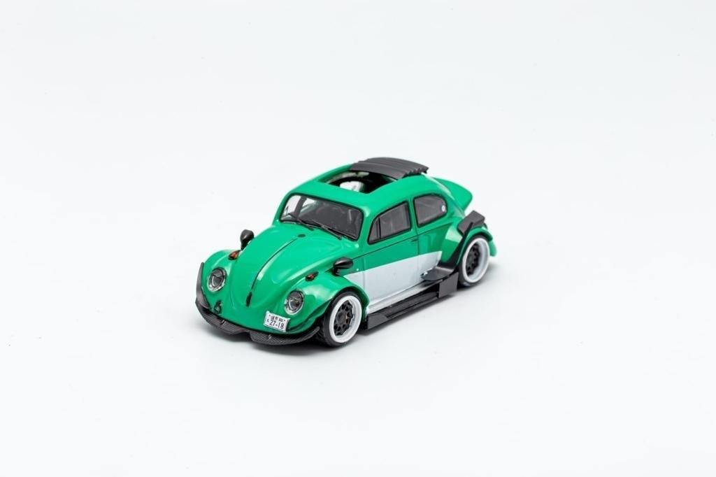 Robert Design x Inspire Model 1:64 RWB Volkswagen Beetle Teal