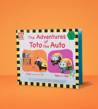 Load image into Gallery viewer, Adventures of Toto the Auto - 4 books