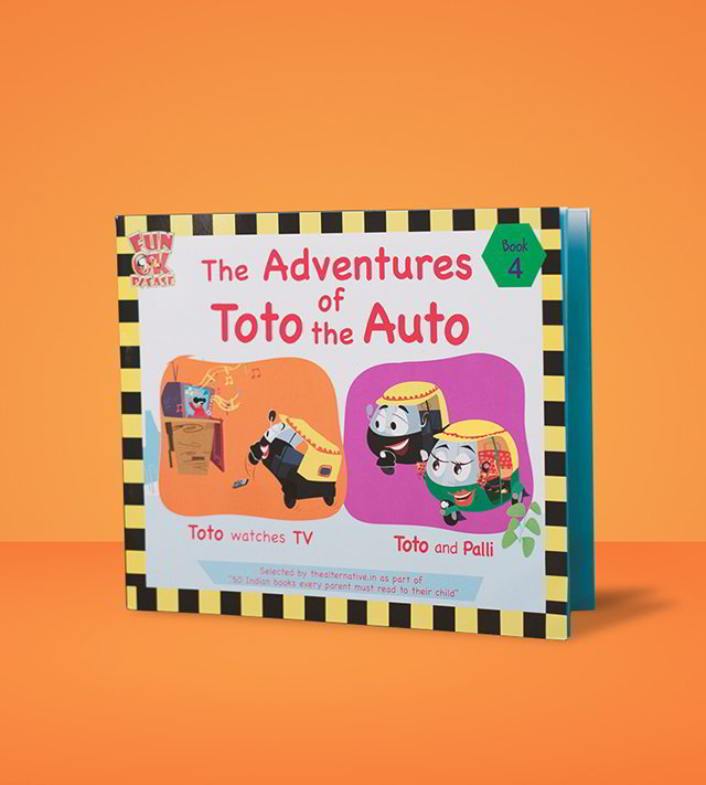 Adventures of Toto the Auto - 4 books