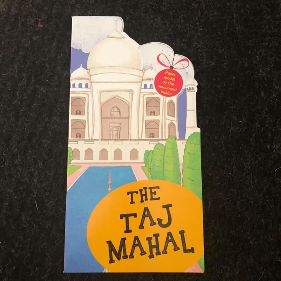 Taj Mahal Cutout Picture Book