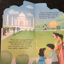 Load image into Gallery viewer, Taj Mahal Cutout Picture Book