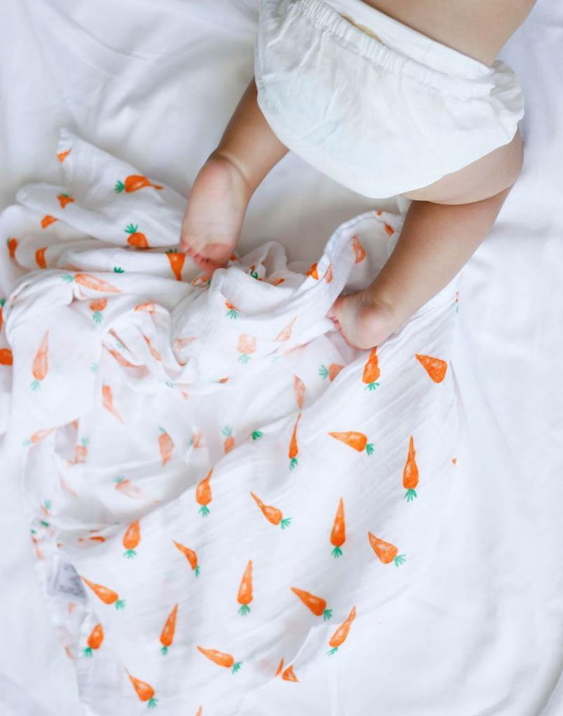 ORGANIC SWADDLE SET - FIRST FOODS