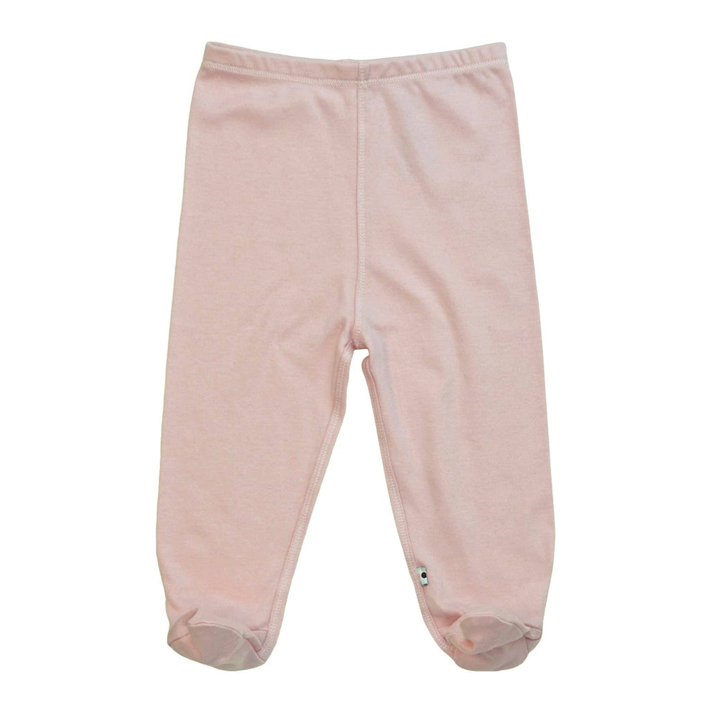 Babysoy Modern Footie Pant - Peony
