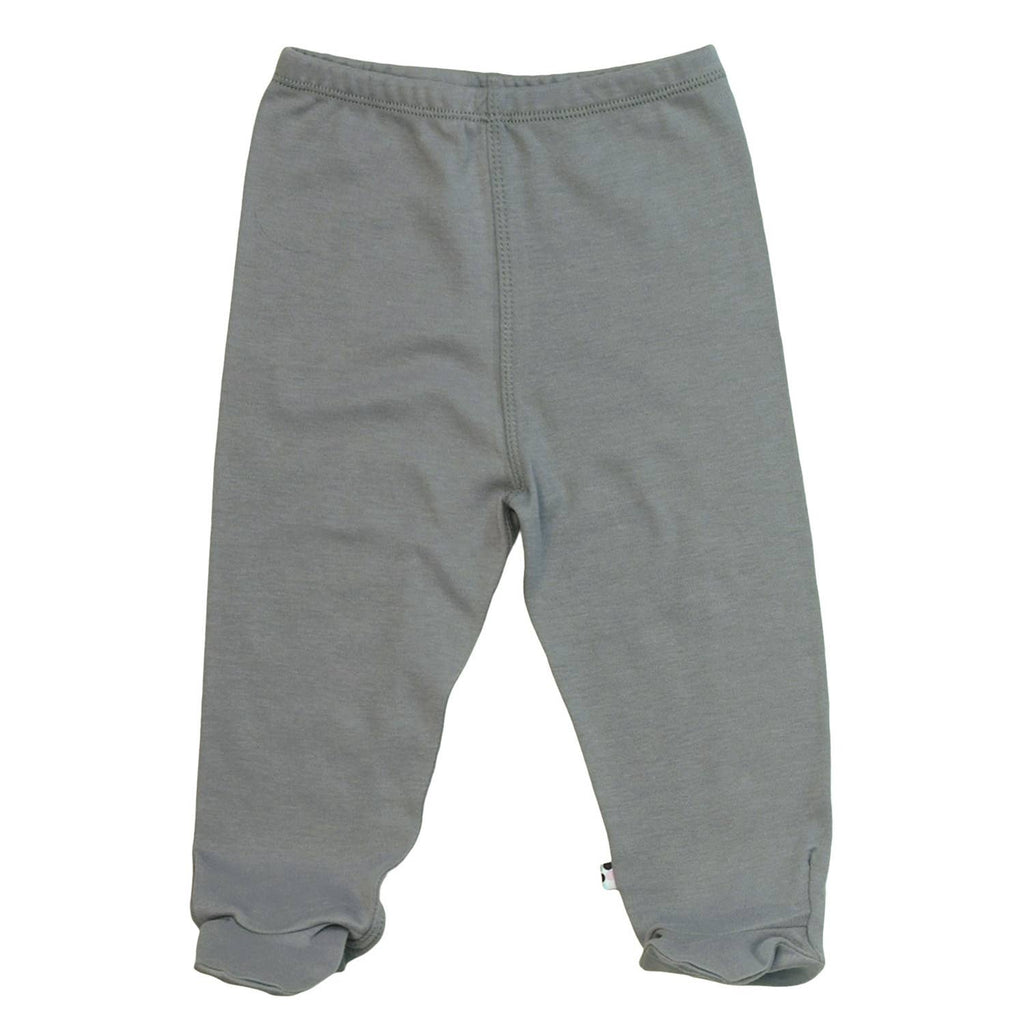 Babysoy Modern Footie Pant - Thunder