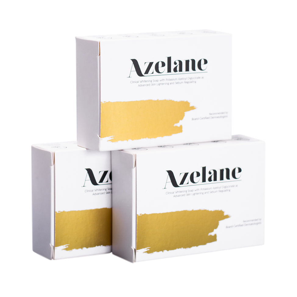AZELANE Clinical Whitening Soap Bundle 100g x3