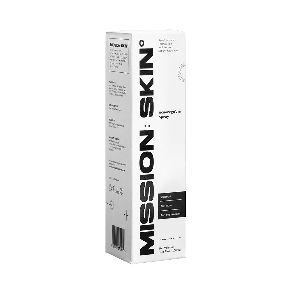 MISSION: SKIN° Acnoregulin Spray 100mL