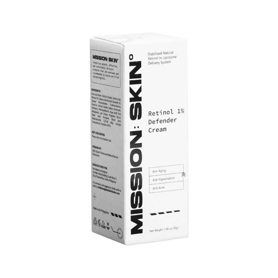 MISSION: SKIN° Retinol 1% Defender Cream 30g