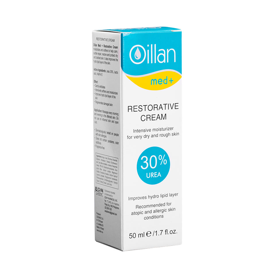 OILLAN MED+ Restorative Cream 30% Urea 50mL