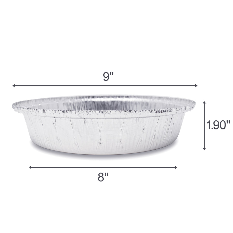 9-Inch Round Pans with Plastic Dome Lids - Fig & Leaf