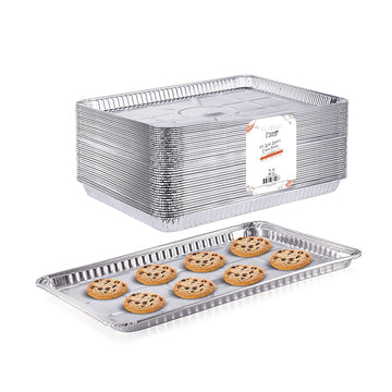 "1/2 Cookie Sheet Baking Cake Pans l 17.7"" x 13"""