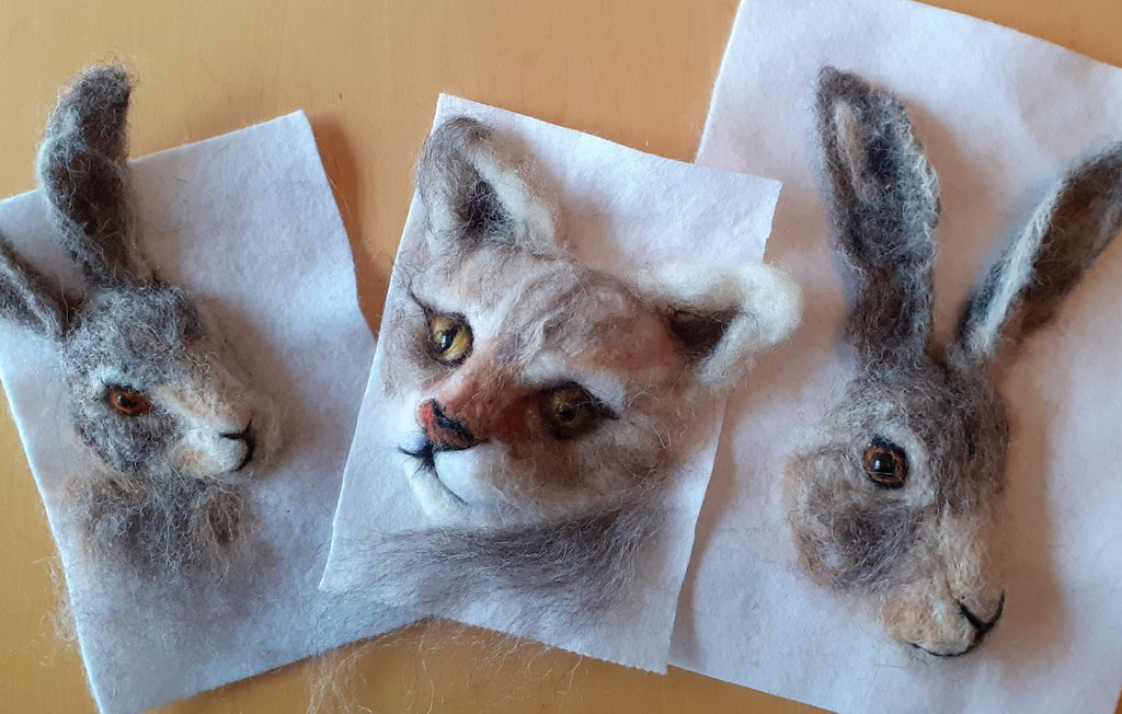 Joan Prowse | Needlefelting | Animal Portraiture Kit | 2021 Spring AAA Show Kit