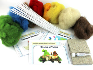 The Makerss | Needlefelting | Spring Bundle | 2021 Spring AAA Show Kit