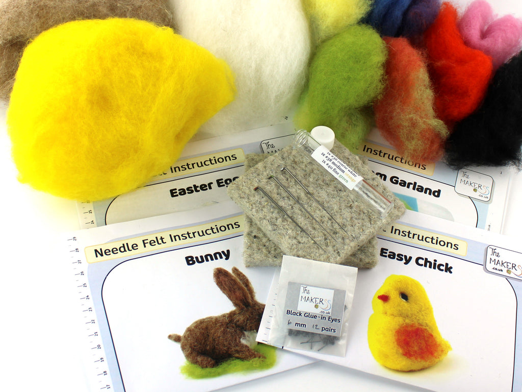 The Makerss | Needlefelting | Easter Bundle | 2021 Spring AAA Show Kit