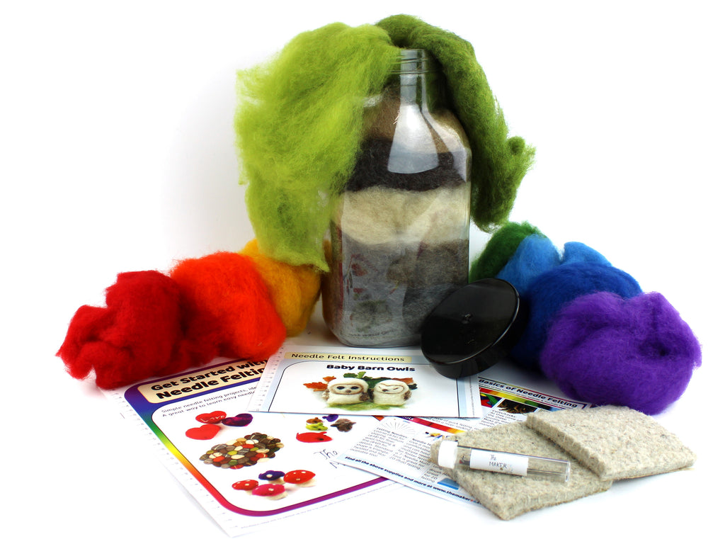 The Makerss | Needlefelting | Easy Projects Mega Starter Bundle | 2021 Spring AAA Show Kit